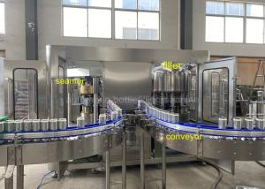 Quality 6000CPH Rotary Soda Beverage Can Filling Machine Non Gas Type for sale