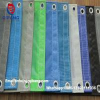 Quality 250d*24*24 130g  construction site fencing& pvc mesh sheet Building safety net for sale