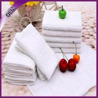 Quality wholesale high quality airline towel custom cheap white aviation towel for sale