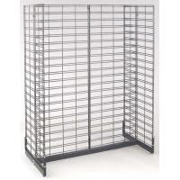 China Galvanized Wire Grid Display Shelving Stand Racks systems for Supermarket, Store Goods on sale