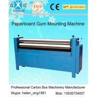 China Manual Feeding Sheet Pasting Machine to Make Single Facer Corruagted Board on sale