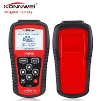 Quality Multi - Functional Handheld Barcode Scanner Konnwei Kw808 Obd2 Diagnostic Scan Tool for sale
