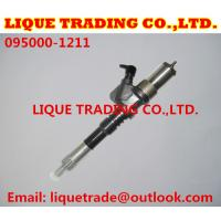 Quality DENSO Genuine & New Common Rail Injector 095000-1211 for Komatsu 6156-11-3300 for sale