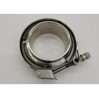 Buy cheap Stainless Steel 304 Quick Fittings 3 Inch Exhaust V Band Clamp With Flange from wholesalers