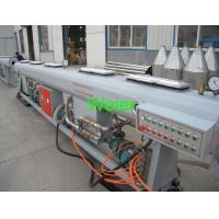 Chemical Industry  Building Water Supply Plastic Pipe Extrusion Line with PLC Siemens