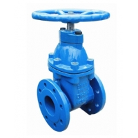 Quality Non Rising Stem GGG50 DN200 PN16 Resilient Seal Gate Valve With Handwheel for sale