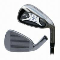Quality Newest Golf Irons, Casting 431 S.S Head, Shaft Plus Rubber Grip, OEM Orders Welcomed for sale