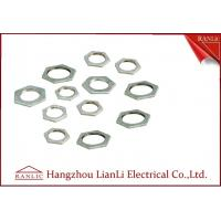 Quality Steel Hot Dip Galvanized Steel Locknut BS4568 BS 31 Threaded Hexagonal Head for sale