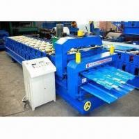 Quality Double Layer Tile Roof Roll Forming Machine with Forging Steel 45# Rolling Material for sale
