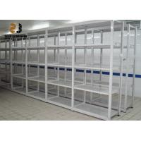 China Steel Galvanized Multi Level Ral System Light Duty Storage Rack , Color Pallet Racking Collapse on sale