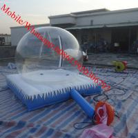 Quality camping inflatable clear tent for sale