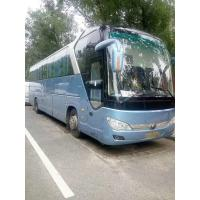 Diesel Yutong Second Hand Tourist Bus Zk 6122 55 Seater Coach Bus With AC Video
