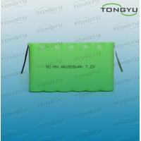 China AA 7.2V NiMh Rechargeable Battery Pack 1600mAh for Digital Camera , Emergency Lighting on sale
