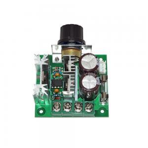 Best 2V24V30V40V Pulse Width Modulator PWM DC Motor Speed Control Switch Speed Governor wholesale