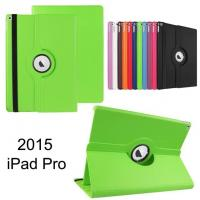 China 360 Degree rotating Leather Tablet Case / Cover , Colorful ipad pro case on sale