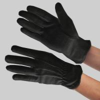 Quality 100% black cotton gloves for sale
