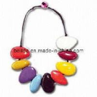 Quality Women Fashion Natural Stone Necklace for sale
