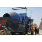 China Transportation Mixer JZM500 25m3/H Mobile Concrete Batching Plant for sale