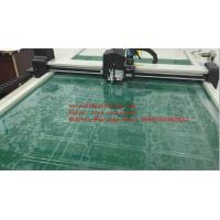 Quality Flat Table Thin Foil Kiss Cutting Machine Vacuum Table Cutter Plotter for sale