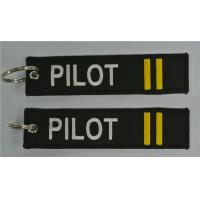 Best Pilot (2bars)-keychain Embroidered Keychain wholesale