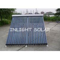 China 24 Tubes Evacuated Tube Solar Collector , Solar Water Heating Systems For Homes on sale