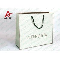 Quality Handmade Custom Color Print Shopping Recycle Paper Bag with Handle , UV Finishing for sale