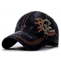Quality Multi Color Embroidered Baseball Caps ADJUSTABLE Size Tight / Smonth Feeling for sale