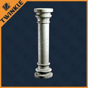 China Art Architecture Granite Natural Stone Column For Indoor Decor , Grey on sale