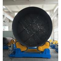 Quality Large Rotary Capacity Automatic Rotator For Silo Tank Welding Production for sale