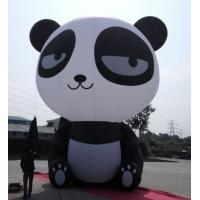 China Oxford Cloth Inflatable Panda , Custom Inflatable Products Cartoon Inflatable Pet on sale