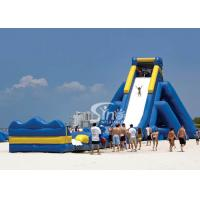 Quality Giant hippo inflatable water slide for adults with pool ended from China inflatable manufacturer for sale