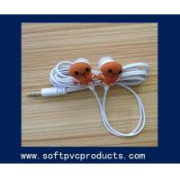 Quality OEM Customized Promotion Gift Earphone Silicone Cable Winder / Cable Holder for sale
