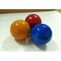 Decorative Solid Wood Balls 60 mm Nature Painted Wooden Balls