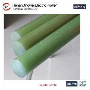 China Fiberglass Round Rods Epoxy Pultrusion Fiberglass FRP Rod Insulation Material on sale