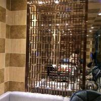 China Laser Cut Home Living Furniture Metal Room Divider Decorative screen on sale