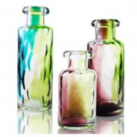 Best Handcrafted Colored Decorative Glass Bottle for Interior Decoration wholesale
