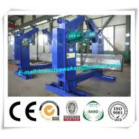 Quality Chain Type Turning H Beam Welding Machine Half Automatic 4 Tons Chain Tilter for sale