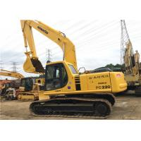 Quality Used Komatsu Crawler Hydraulic Excavator PC220 22180kg Operate Weight With 1m3 Bucket for sale