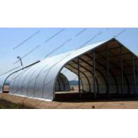 Quality Fire Retardant Curved Tent Outdoor Party , Heavy Duty Tents With White PVC Fabric for sale