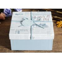 China Durable DIY Custom Printed Gift Boxes Recycled Coated Paper Materials on sale