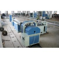 Quality Steel Wire PVC Pipe Extrusion Line , Soft Pipe Making Machinery for sale
