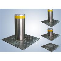 China Driveways Security Automatic Rising Bollards With OMRON PLC Control on sale