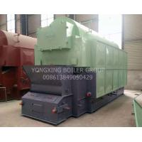Quality Automatically Wood Chip Biomass Boiler / Coconut Shell Fuel Wood Pellets Boiler for sale
