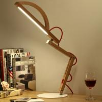 China nightstand lamps,bedside lights,wood desk lamps on sale