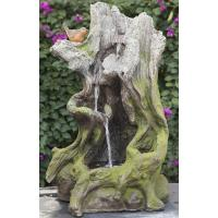 Best Old Wooden Stake Decorative Outdoor Tiered Water Fountains In Cement Material wholesale