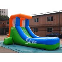 Quality oddler mini inflatable water slide for backyard play from China Sino Inflatables for sale