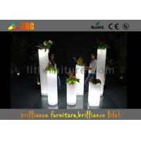 Best LED ice bucket & LED Flower Pot / planter , Glowing bar furniture wholesale