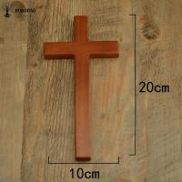 Quality OEM Design Small Size Handheld Handcrafted Wooden Crosses Painted For Crafts for sale