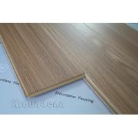 Quality Teak Nature AC4 Glossy Laminate Flooring European Retro For Hotels for sale
