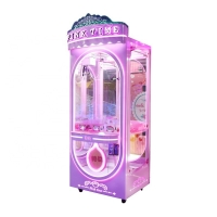 Quality Metal Coin Operated Plush Toy Crane Machine for sale